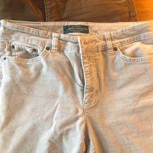 Lauren Ralph Lauren Petite; Corduroy Pants, 6P